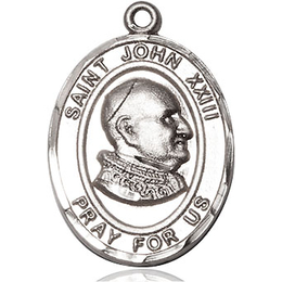 St John XXIII<br>Oval Patron Saint Series<br>Available in 3 Sizes