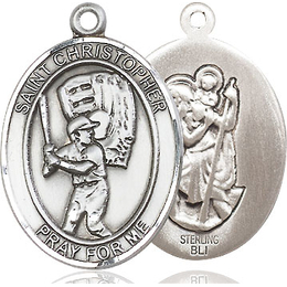 St Christopher Baseball<br>Available in 3 Sizes