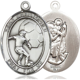 St Christopher Soccer<br>Available in 3 Sizes