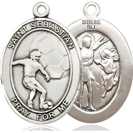 St Sebastian Soccer<br>Available in 3 Sizes