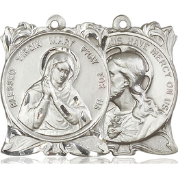 Blessed Virgin<br>Sacred Heart of Jesus<br>79-164/117 - 1 x 1 1/4