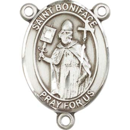 Saint Boniface<br>8009CTR - 3/4 x 1/2<br>Rosary Center