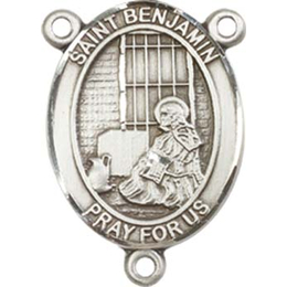 Saint Benjamin<br>8013CTR - 3/4 x 1/2<br>Rosary Center
