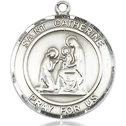 St Catherine of Siena<br>Round Patron Saint Series<br>Available in 2 Sizes