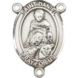 Saint Daniel<br>8024CTR - 3/4 x 1/2<br>Rosary Center