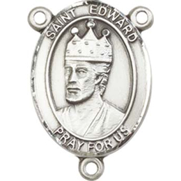 Saint Edward the Confessor<br>8026CTR - 3/4 x 1/2<br>Rosary Center