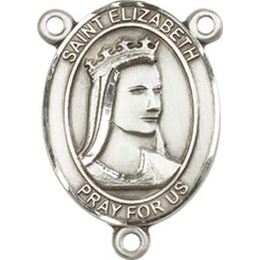 Saint Elizabeth of Hungary<br>8033CTR - 3/4 x 1/2<br>Rosary Center