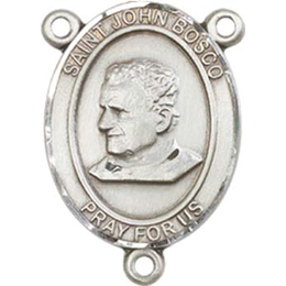 Saint John Bosco<br>8055CTR - 3/4 x 1/2<br>Rosary Center