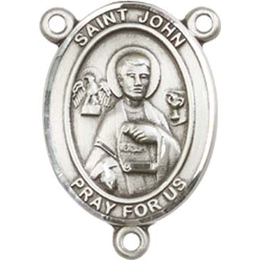 Saint John the Apostle<br>8056CTR - 3/4 x 1/2<br>Rosary Center