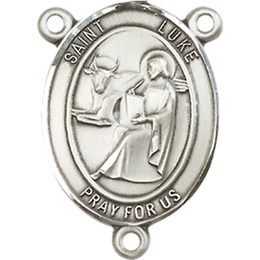 Saint Luke the Apostle<br>8068CTR - 3/4 x 1/2<br>Rosary Center