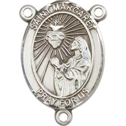 Saint Margaret Mary Alacoque<br>8072CTR - 3/4 x 1/2<br>Rosary Center