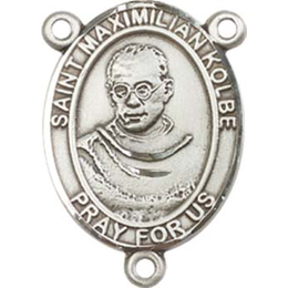 Saint Maximilian Kolbe<br>8073CTR - 3/4 x 1/2<br>Rosary Center