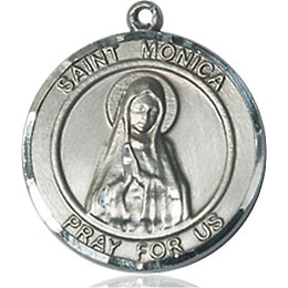 St Monica<br>Round Patron Saint Series<br>Available in 2 Sizes