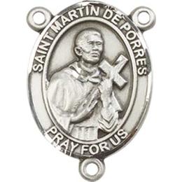 Saint Martin de Porres<br>8089CTR - 3/4 x 1/2<br>Rosary Center