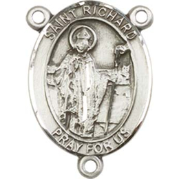 Saint Richard<br>8093CTR - 3/4 x 1/2<br>Rosary Center