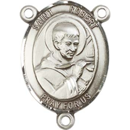 Saint Robert Bellarmine<br>8096CTR - 3/4 x 1/2<br>Rosary Center