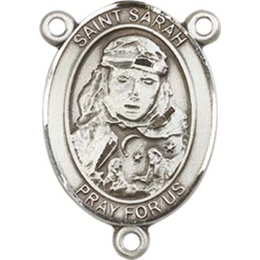 Saint Sarah<br>8097CTR - 3/4 x 1/2<br>Rosary Center