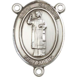 Saint Stephen the Martyr<br>8104CTR - 3/4 x 1/2<br>Rosary Center