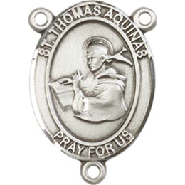 Saint Thomas Aquinas<br>8108CTR - 3/4 x 1/2<br>Rosary Center