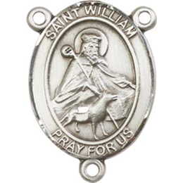 Saint William of Rochester<br>8114CTR - 3/4 x 1/2<br>Rosary Center