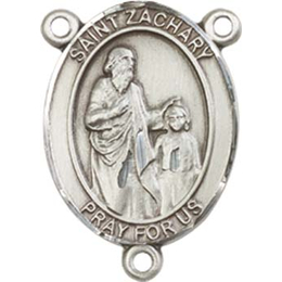 Saint Zachary<br>8116CTR - 3/4 x 1/2<br>Rosary Center
