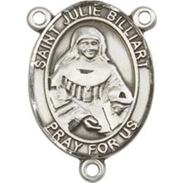 Saint Julie Billiart<br>8117CTR - 3/4 x 1/2<br>Rosary Center