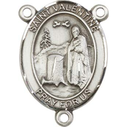 Saint Valentine of Rome<br>8121CTR - 3/4 x 1/2<br>Rosary Center