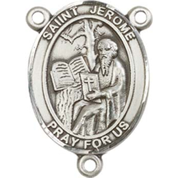Saint Jerome<br>8135CTR - 3/4 x 1/2<br>Rosary Center