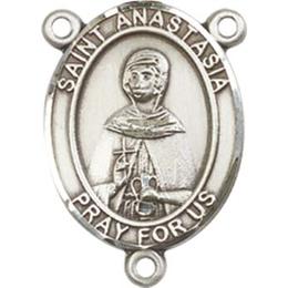 Saint Anastasia<br>8213CTR - 3/4 x 1/2<br>Rosary Center