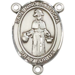 Saint Nino de Atocha<br>8214CTR - 3/4 x 1/2<br>Rosary Center