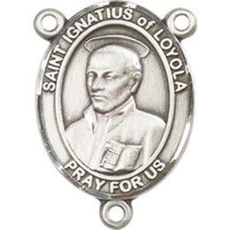 Saint Ignatius of Loyola<br>8217CTR - 3/4 x 1/2<br>Rosary Center