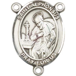 Saint Alphonsus<br>8221CTR - 3/4 x 1/2<br>Rosary Center