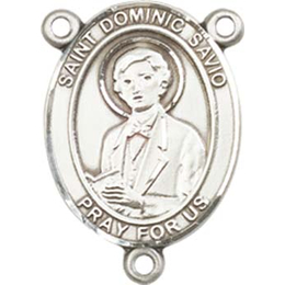 Saint Dominic Savio<br>8227CTR - 3/4 x 1/2<br>Rosary Center