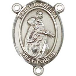 Saint Isabella of Portugal<br>8250CTR - 3/4 x 1/2<br>Rosary Center