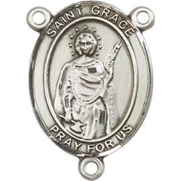 Saint Grace<br>8255CTR - 3/4 x 1/2<br>Rosary Center