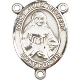 Saint Julia Billiart<br>8267CTR - 3/4 x 1/2<br>Rosary Center