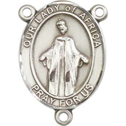 Our Lady of Africa<br>8269CTR - 3/4 x 1/2<br>Rosary Center