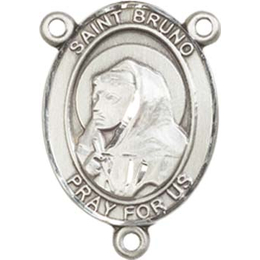 Saint Bruno<br>8270CTR - 3/4 x 1/2<br>Rosary Center