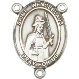Saint Wenceslaus<br>8273CTR - 3/4 x 1/2<br>Rosary Center