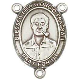 Blessed Pier Giorgio Frassati<br>8278CTR - 3/4 x 1/2<br>Rosary Center