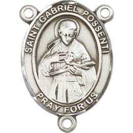Saint Gabriel Possenti<br>8279CTR - 3/4 x 1/2<br>Rosary Center