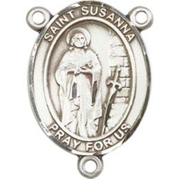 Saint Susanna<br>8280CTR - 3/4 x 1/2<br>Rosary Center