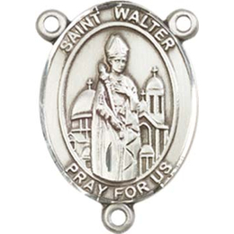 Saint Walter of Pontnoise<br>8285CTR - 3/4 x 1/2<br>Rosary Center
