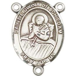 Saint Lidwina of Schiedam<br>Rosary Center - 8297CTR