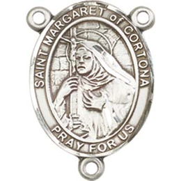 Saint Margaret of Cortona<br>8301CTR - 3/4 x 1/2<br>Rosary Center