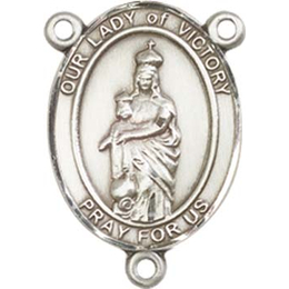 Our Lady of Victory<br>8306CTR - 3/4 x 1/2<br>Rosary Center