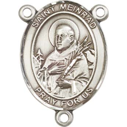 Saint Meinrad of Einsiedeln<br>8307CTR - 3/4 x 1/2<br>Rosary Center