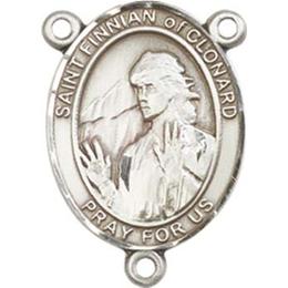 Saint Finnian of Clonard<br>8308CTR - 3/4 x 1/2<br>Rosary Center