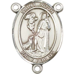 Saint Roch<br>8310CTR - 3/4 x 1/2<br>Rosary Center