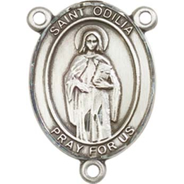 Saint Odilia<br>8319CTR - 3/4 x 1/2<br>Rosary Center
